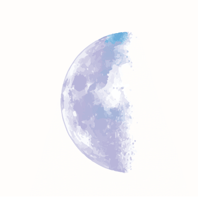 Moon Phases Third Quarter