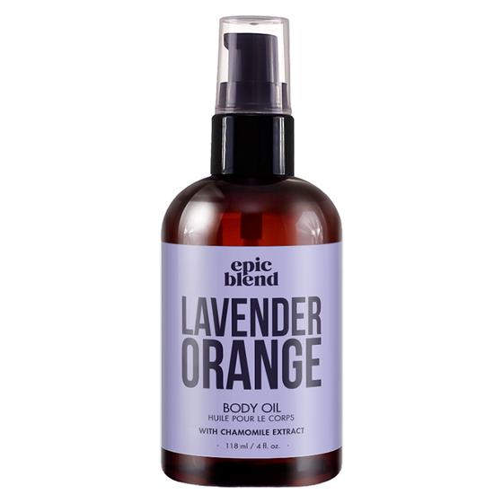 Lavender Orange Body Oil Product Image