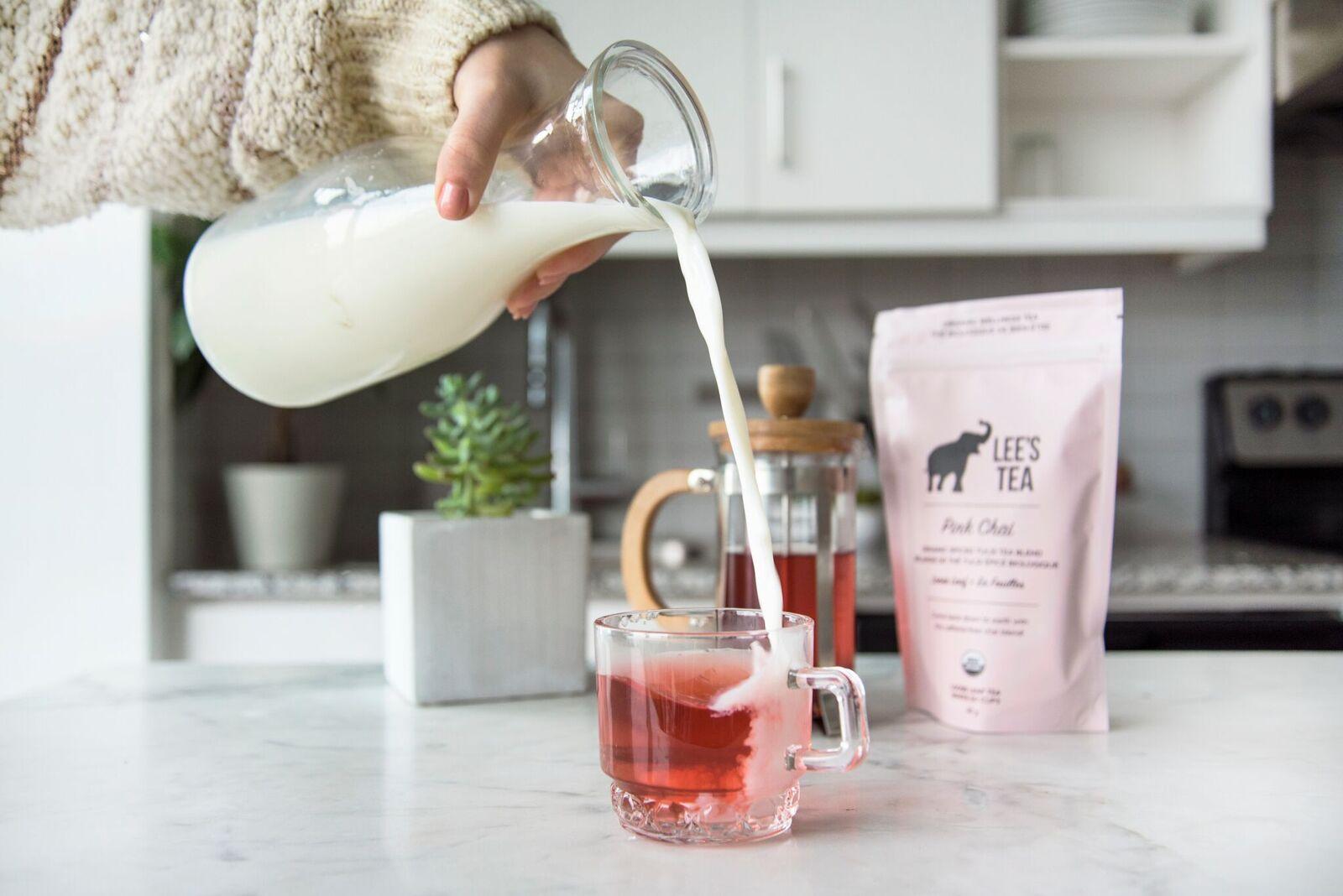 Wellness Tea 101 with Lee from Lee's Tea - Lee's Tea Product in Kitchen