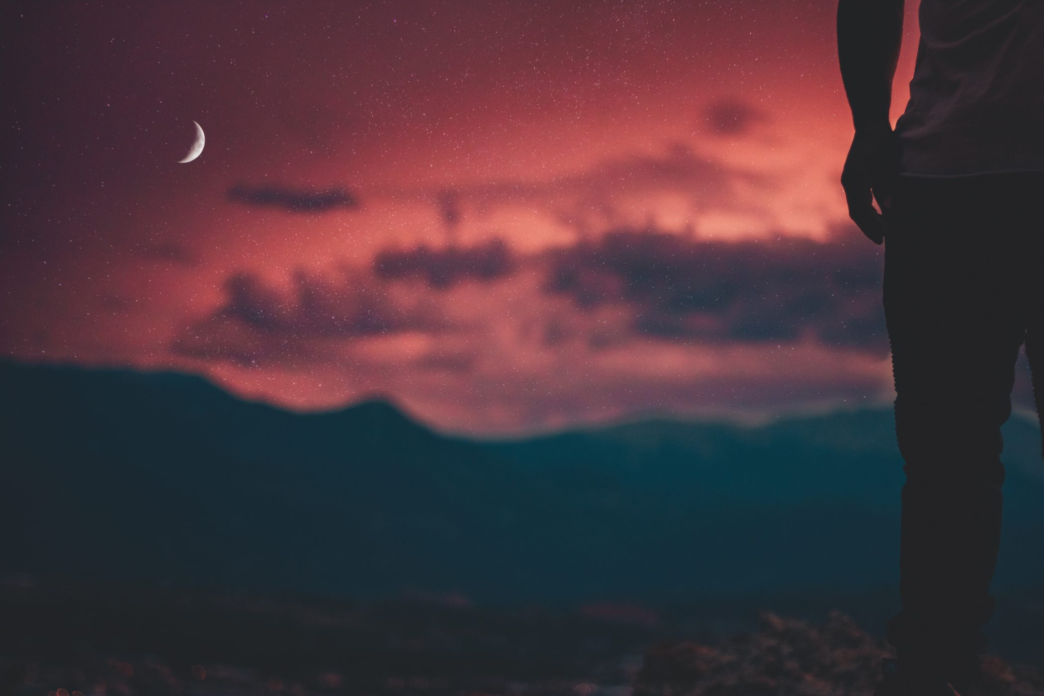 June's Strawberry Moon in Gemini: Meaning and Local Ceremonies - Sunset & Crescent Moon Image
